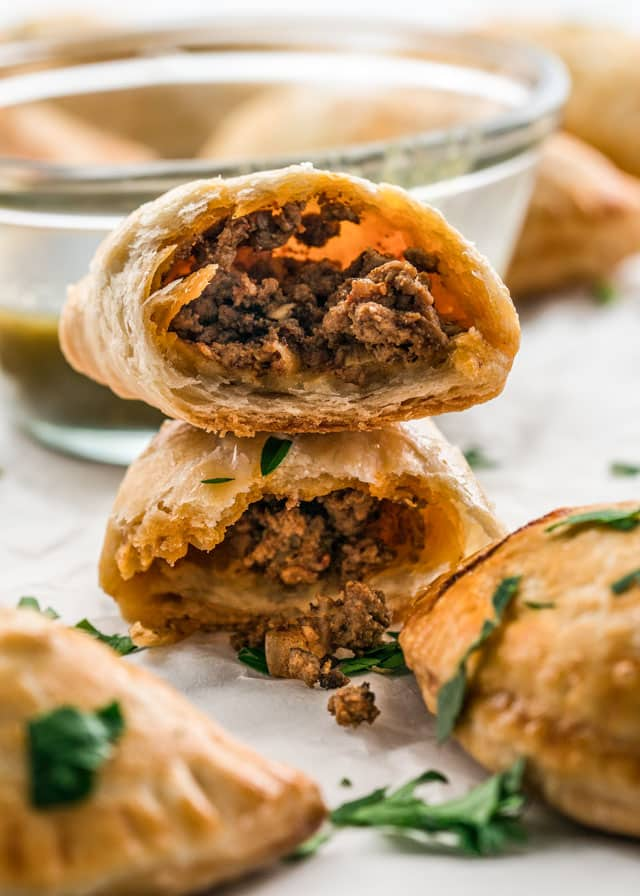 Ground Beef Empanadas #beef #diet #easy #paleo #lowcarb