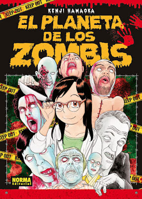 Manga: Review de El planeta de los Zombis de Kenji Hamaoka - Norma Editorial
