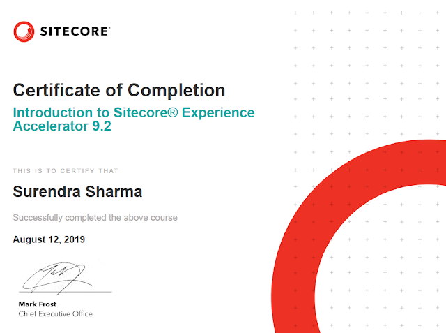 Introduction to Sitecore Experience Accelerator 9.2