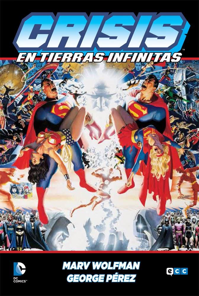 """Cómic: review de """"Crisis en Tierras Infinitas"""" [ECC Ediciones]."""