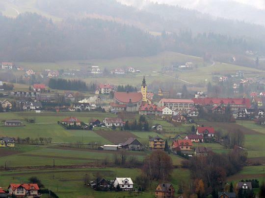Wieś Mordarka.