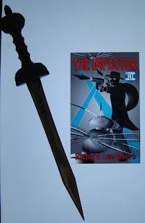 Portada del libro The Impostor #0: Suiting Up, de Richard Lee Byers