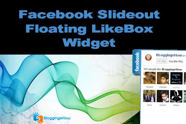 Facebook Slideout Floating LikeBox