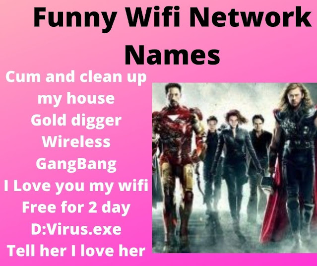 25+ Funny Wifi Names For Your Wifi