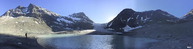 Panorámica del Steindalsbreen - Alpes Lyngen por El Guisante Verde Project
