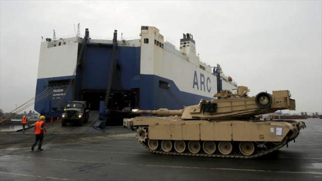 EEUU intensifica sus ejercicios militares cerca de Rusia
