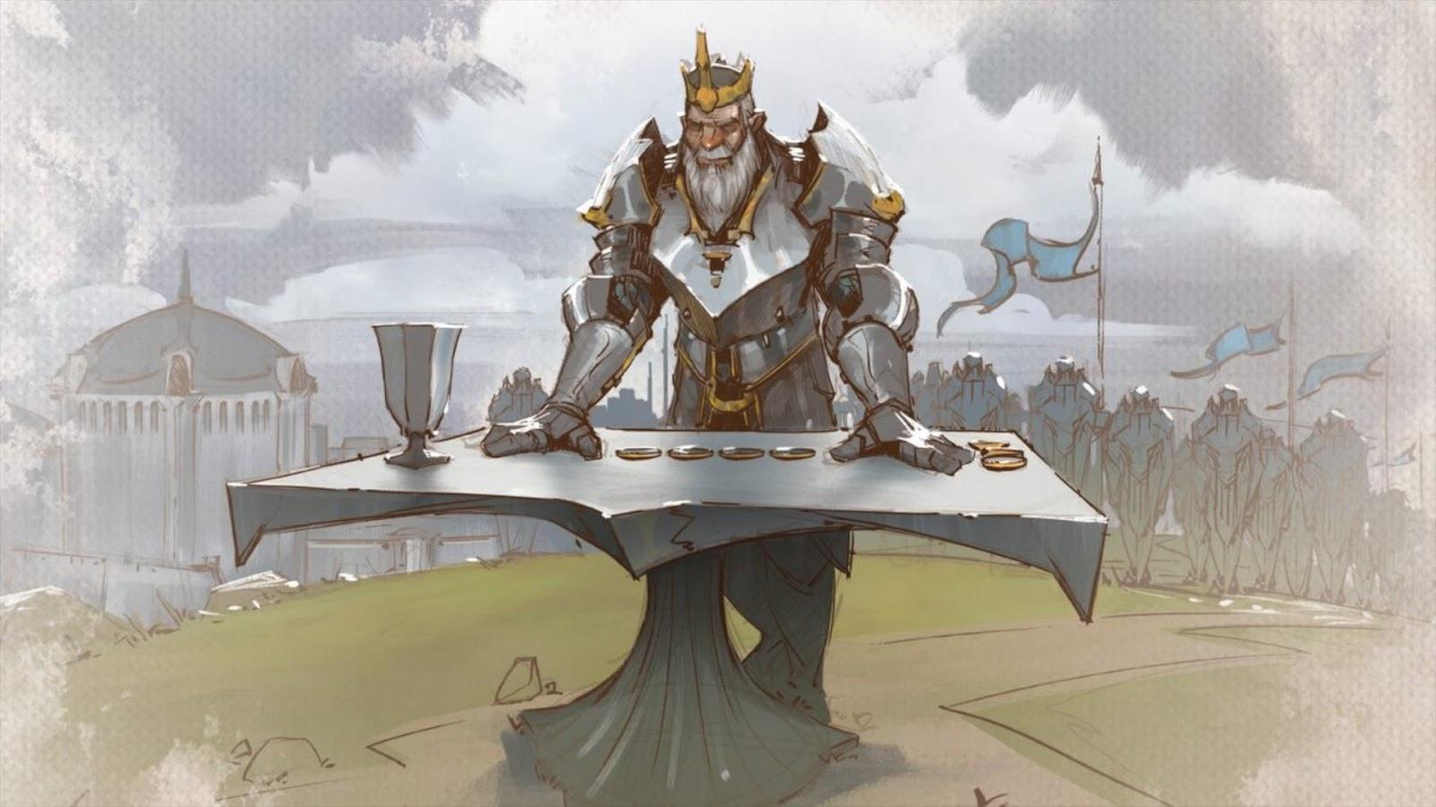 Board Game News Collider Riot GAmes Mech Vs Minions Follow Up Tellstones Kings Gambit