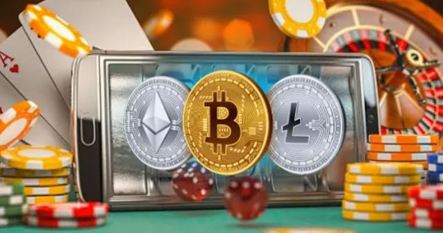 cryptocurrency high-risk investment compared with gambling