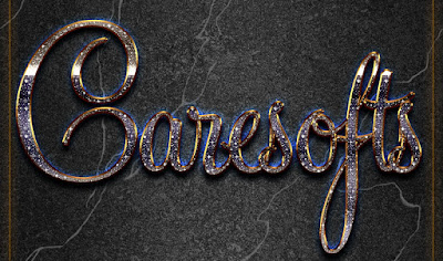10 Shining Text Style for Photoshop