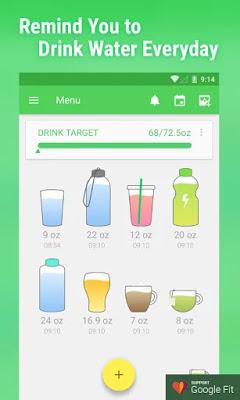 تحميل تطبيق Water Drink Reminder Pro