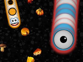Jogo online grátis Worms Zone HTML5