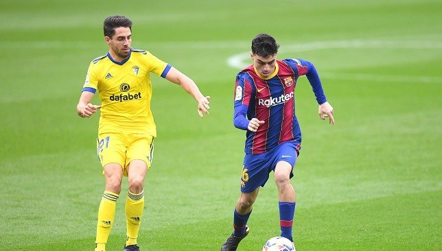 موعد مباراة برشلونه وقادش في الدوري الاسباني