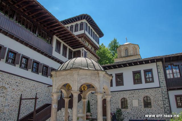 St. John Bigorski Monastery in Macedonia