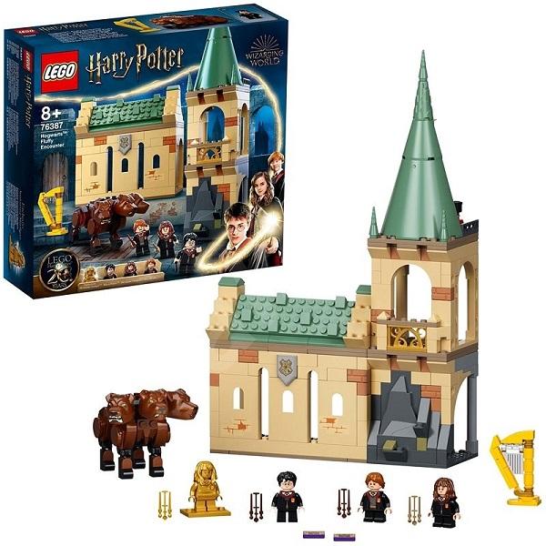 LEGO Harry Potter среща с Пухчо в Хогуортс 76387