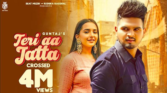 Teri Aa Jatta Song Lyrics : GUNTAJ | Diljit Chitti | New Punjabi Songs 2020 | Beat Muzik | Latest Punjabi Song Lyrics Planet