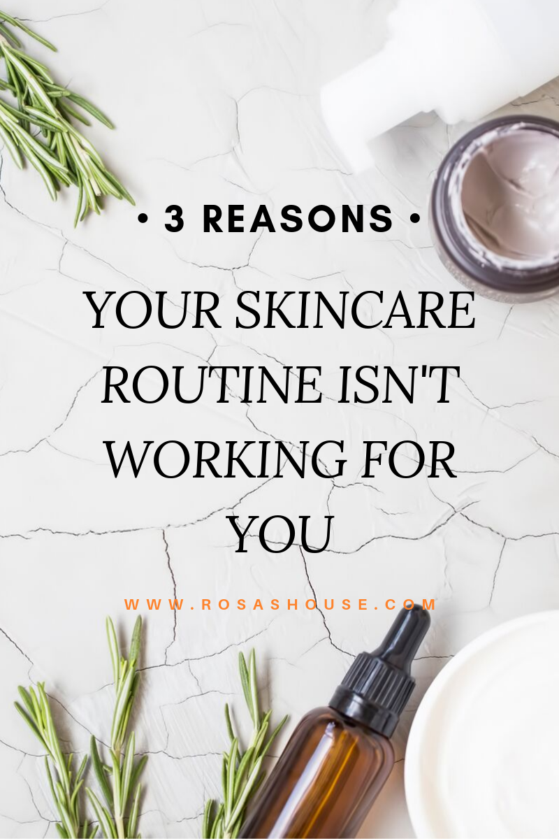 Ever wondered why skincare just seems to make your skin worse? Here are three reasons that will help you fix it!
