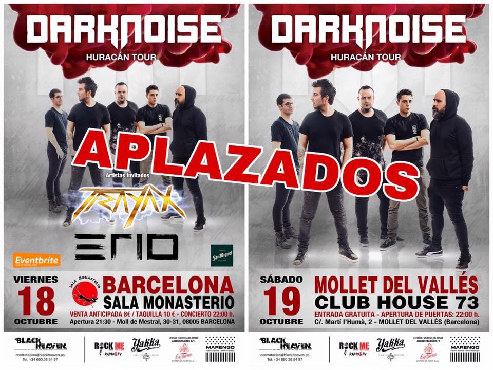 Darknoise Aplazado conciertos
