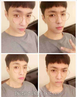 Photos Of EXO Lay wearing a Glasses