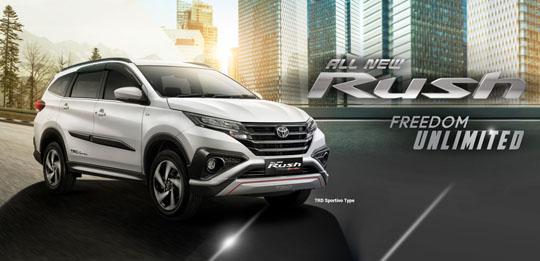 Harga Mobil Toyota New Rush 2017 di Jakarta Tangerang Serang Depok Bekasi