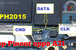 ISP Pinout Oppo A31 (2020) CPH2015