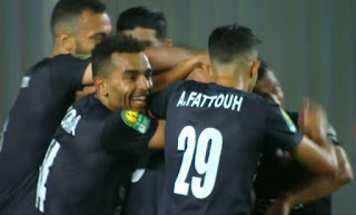 ملخص واهداف مباراة الزمالك ومولودية الجزائر(2-0) دوري ابطال افريقيا