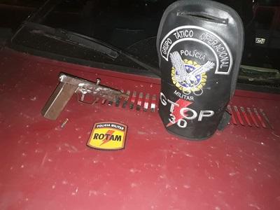 PMDF apreende arma caseira em Ceilândia