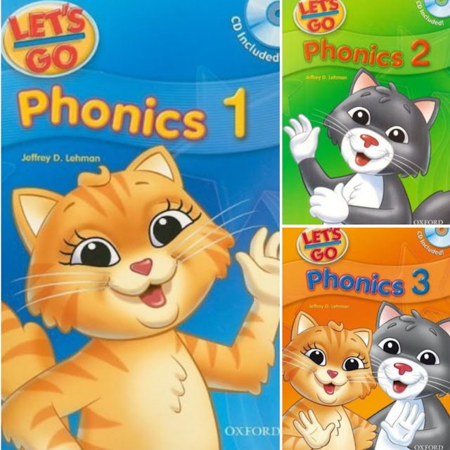 Let's Go Phonics 1,2,3 (+Audio) by Jeffrey D. Lehman