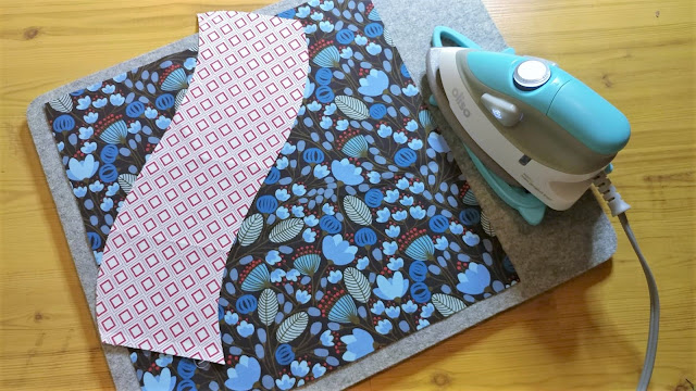 Two piece quilt block