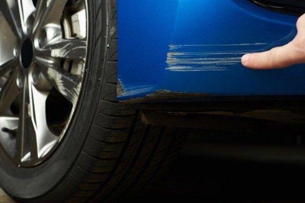 Bodi Mobil Bekas Tabrakan atau Goresan ciri mobil tidak orisinil