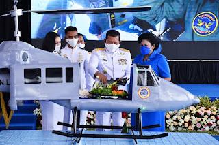 Kasal Resmikan Skuadron Udara 100 Anti Kapal Selam dan Skuadron Udara 700 Pesawat Tanpa Awak