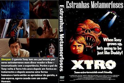 Filme X-TRO: Estranhas Metamorfoses DVD Capa