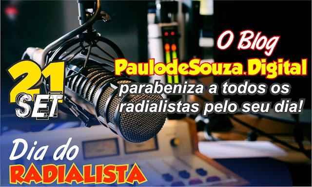 Dia 21 de setembro é comemorado dia do RADIALISTA