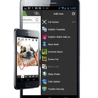 Dolphin Browser HD 8.1.1