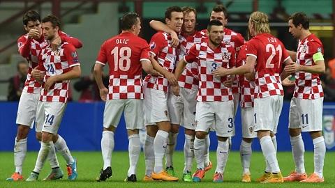 Ở vòng chung kết World Cup, Croatia đã 3 lần phải đấu vòng play-off.