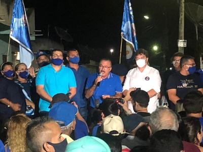 Em ritmo frenético, Uchoa segue giro pelos municípios da base eleitoral