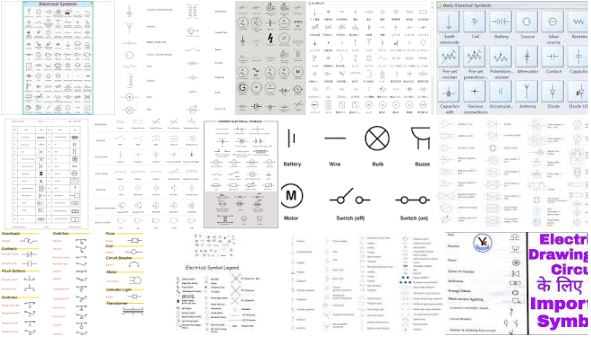 The Most Common Electrical Symbols for House Plans