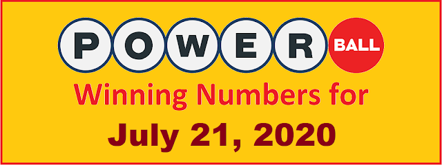PowerBall Winning Numbers for Wednesday, July 21, 2021