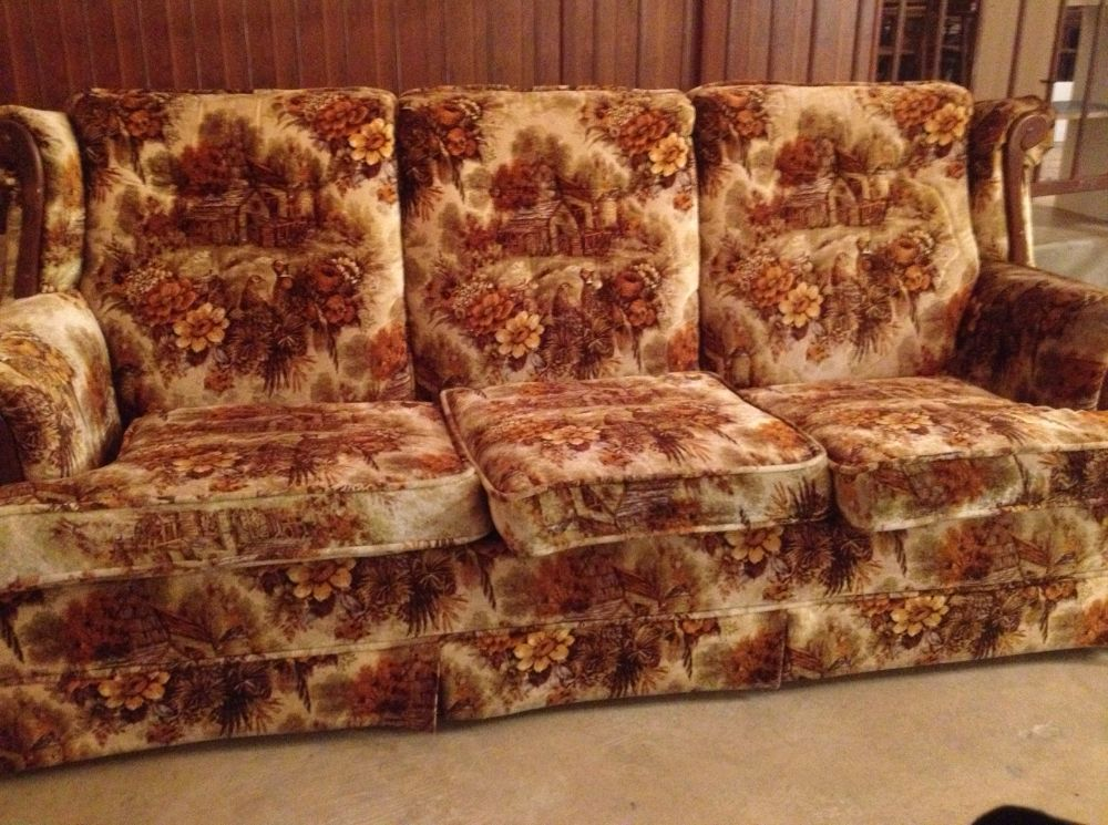 These Ugly Couches That Everybody S Grandparents Had In