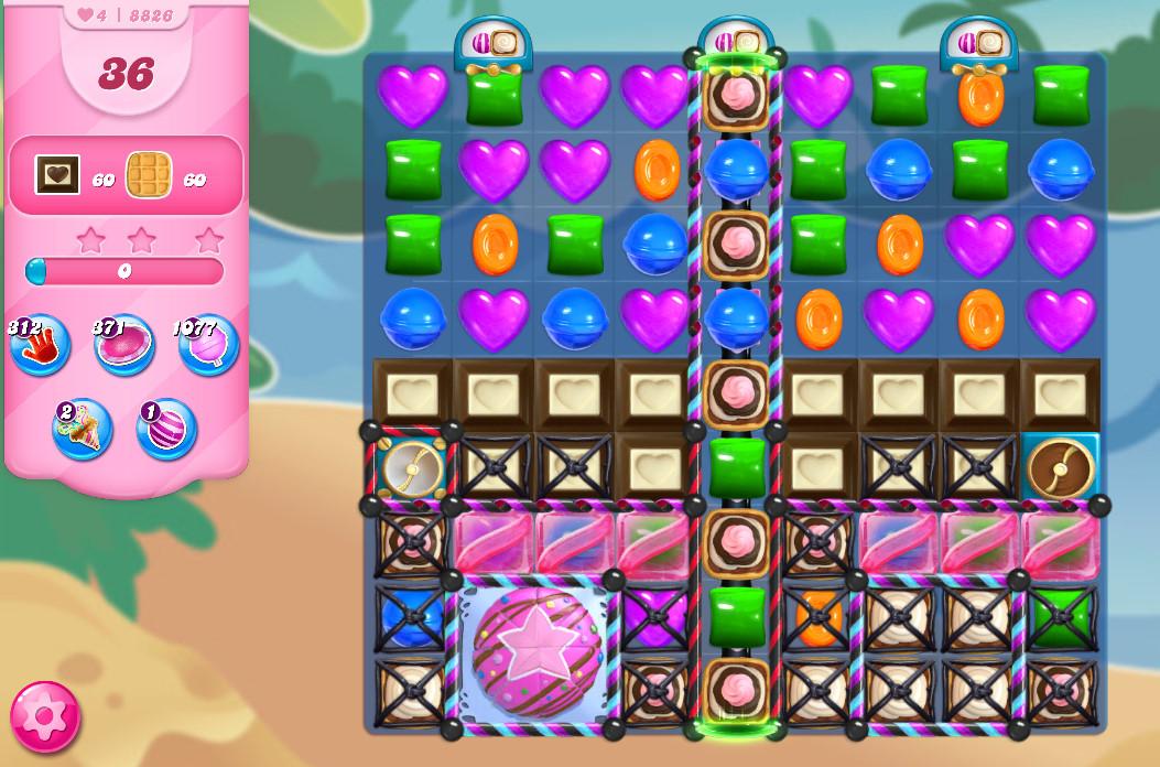 Candy Crush Saga level 8826