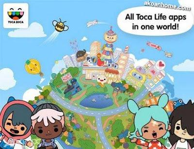 تحميل توكا بوكا جميع الإصدارات مجانا جميع العاب Toca Boca برابط مباشر