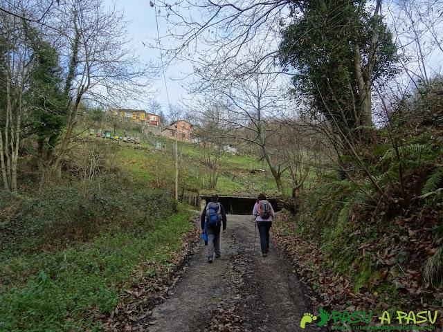 Subiendo a Ceacal, Langreo