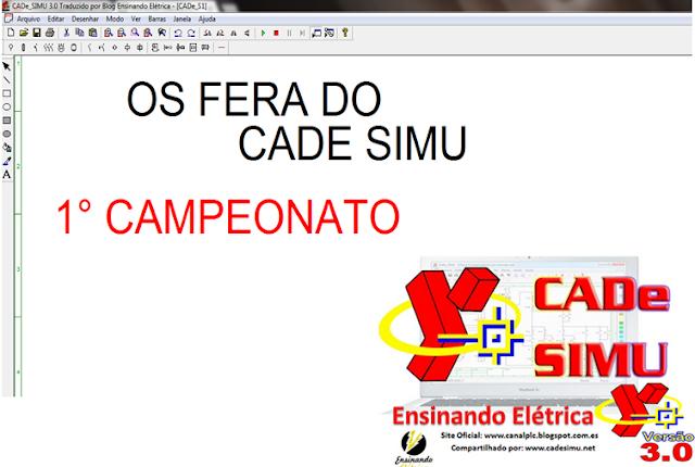 1° Campeonato em Comandos Elétricos (CADe SIMU)