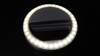 Portable Selfie Ring Light Unboxing and Review