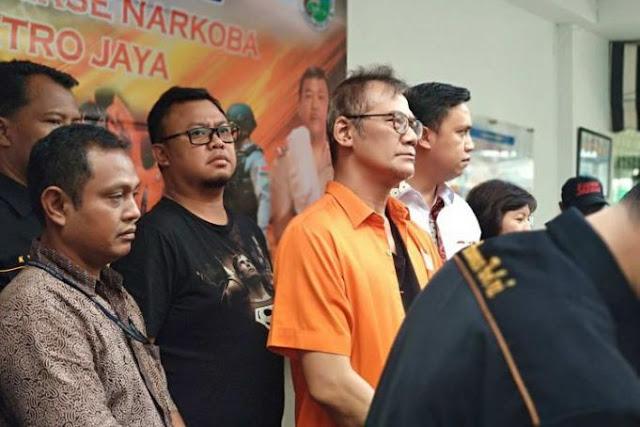 Ditangkap Polisi, Tio Pakusadewo Mengaku Sudah 10 Tahun Konsumsi Sabu