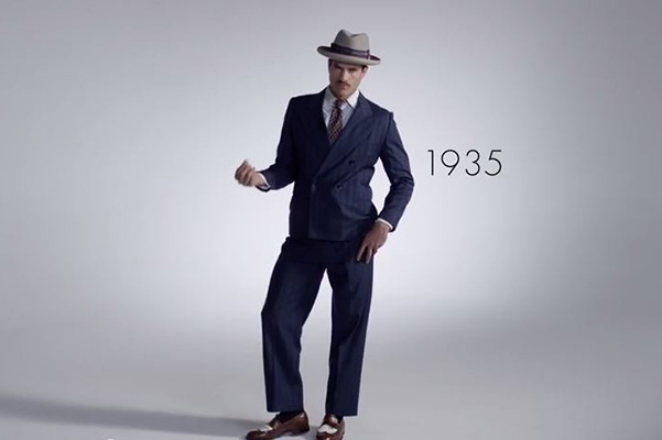 100 years of men's fashion 1935