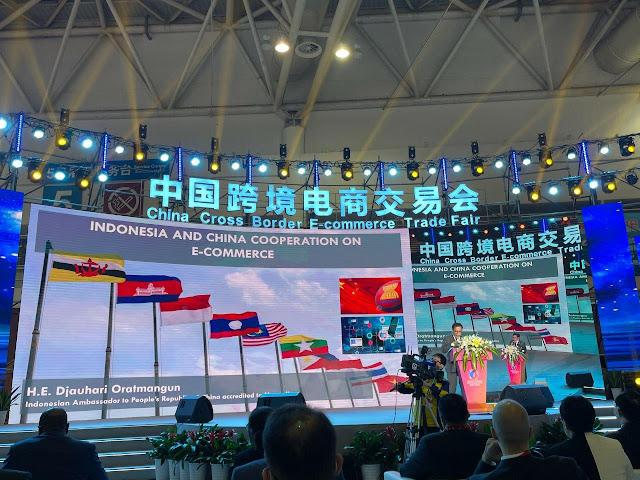 Djauhari Oratmangun Promosi Ekspor Produk Perikanan dan Kerjasama Ekonomi Digital di Fuzhou