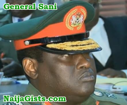 major general ibrahim sani