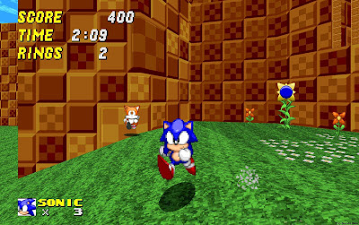 تحميل لعبة سونيك للكمبيوتر مجانا Sonic Robo Blast 2 - عالم الالعاب