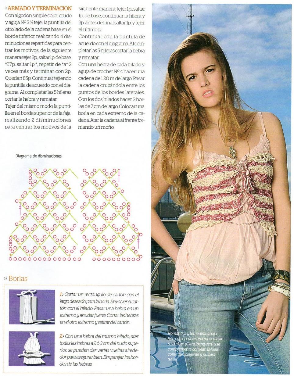 revistas crochet, revista accesorios tejidos, patrones para crochet