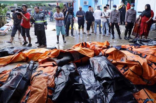 Update Korban Tsunami Selat Sunda: 373 Tewas, 1.459 Luka-luka